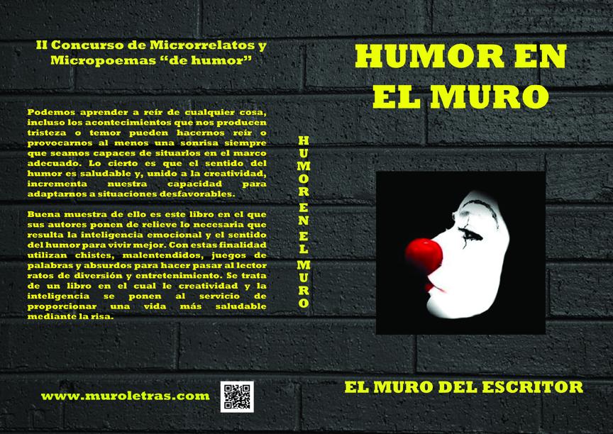 Libro humor en el muro